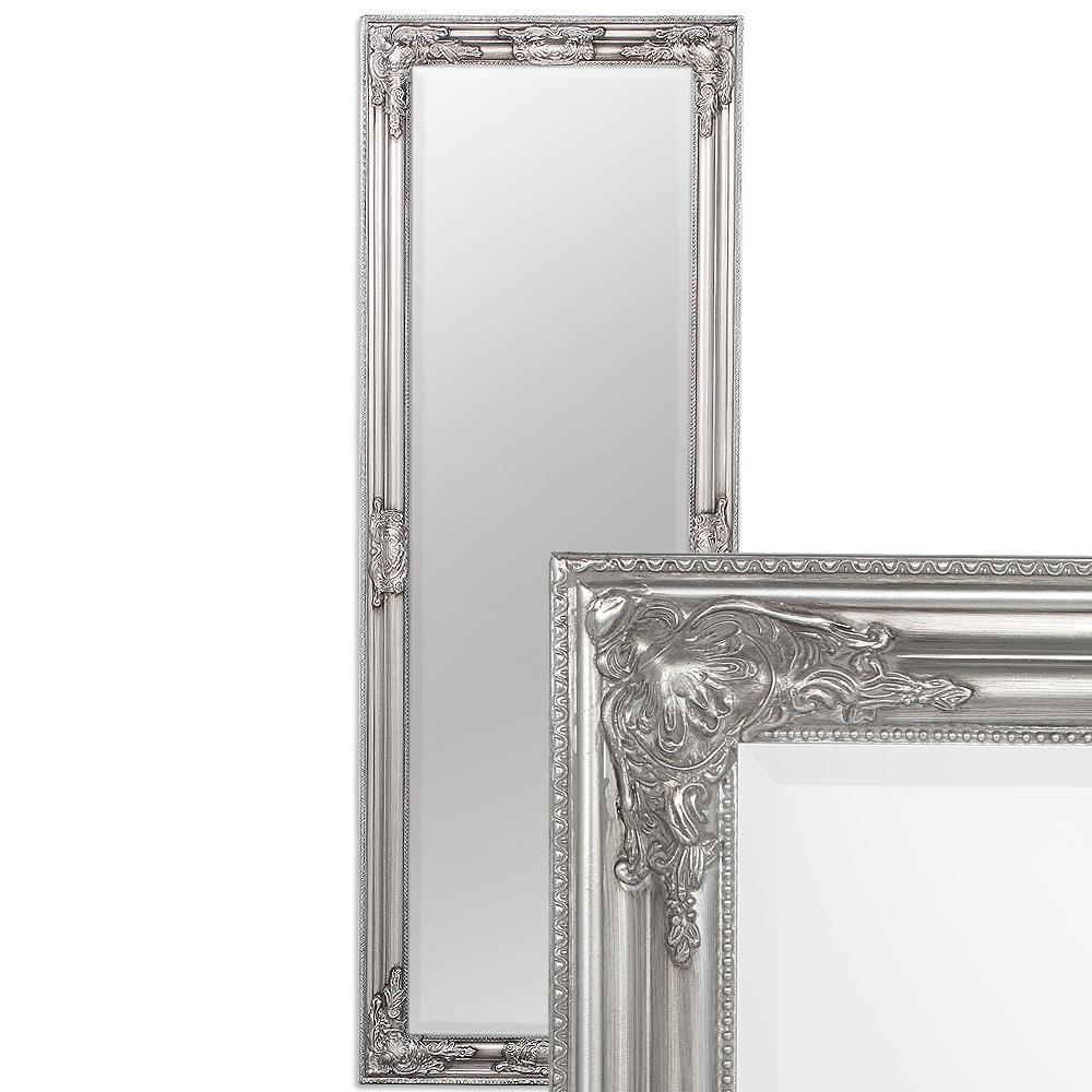 Spiegel BESSA barock silber-antik 140x50cm