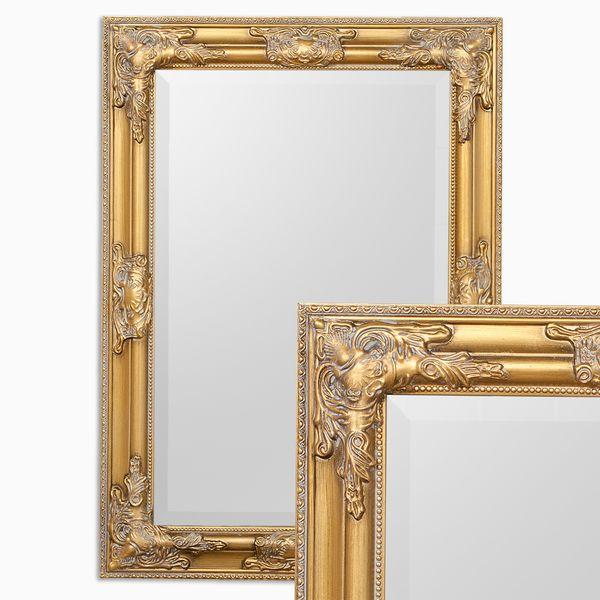 Spiegel BESSA barock gold-antik 70x50cm – Bild 1