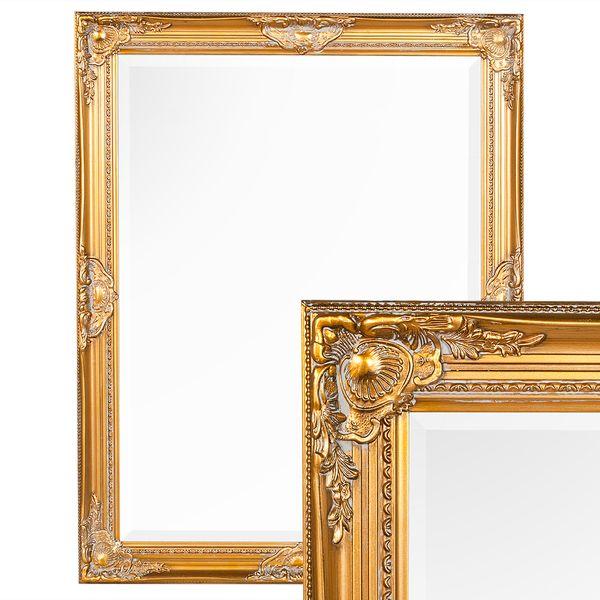 Spiegel LEANDOS barock gold-antik 90x70cm