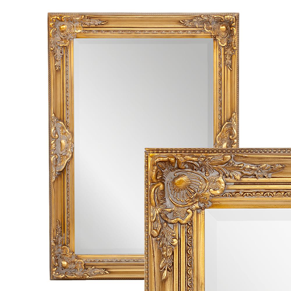 Spiegel LEANDOS barock gold-antik 70x50cm