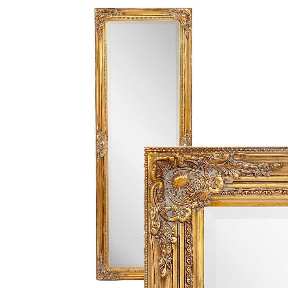 Spiegel LEANDOS barock gold-antik 140x50cm