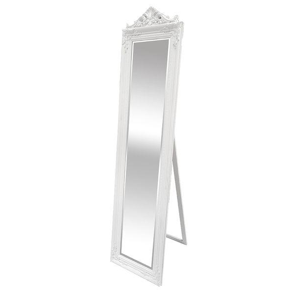 Standspiegel XENAS 180x44cm Weiß
