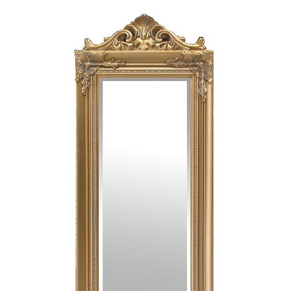 Standspiegel XENAS 180x44cm Gold – Bild 3
