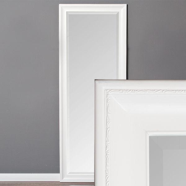 Spiegel COPIA 180x70cm Pur-Weiß Wandspiegel Barock