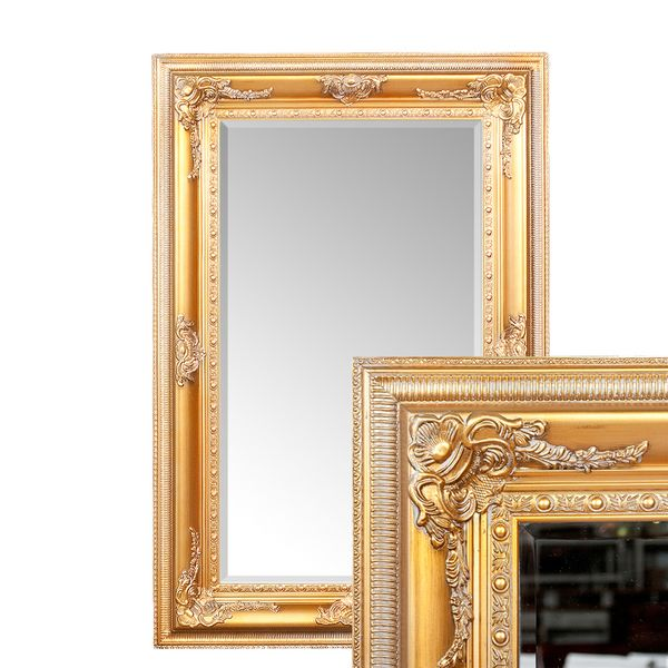 Spiegel EVE Antik-Gold 180x100cm