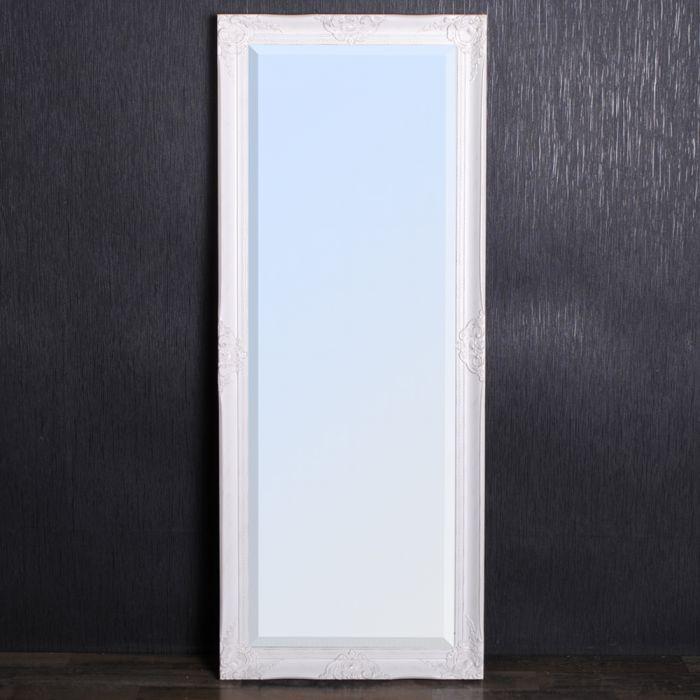 spiegel wei 223 barock spiegel wei 62cm barock holz spiegel wei landhaus 150x60cm holz