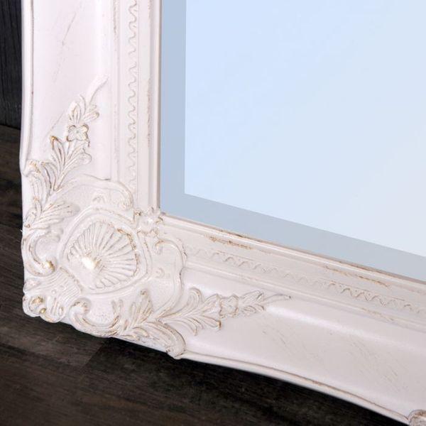 Spiegel LEANDRA barock weiß-gold 150x60cm – Bild 5