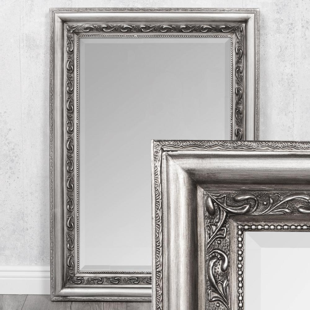 Spiegel ARGENTO Silber-Antik 70x50cm