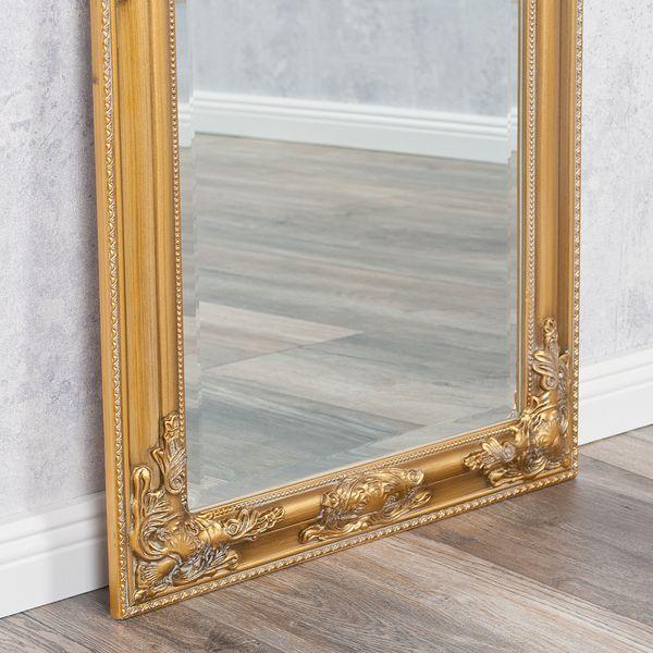 Spiegel BESSA barock gold-antik 100x50cm – Bild 5