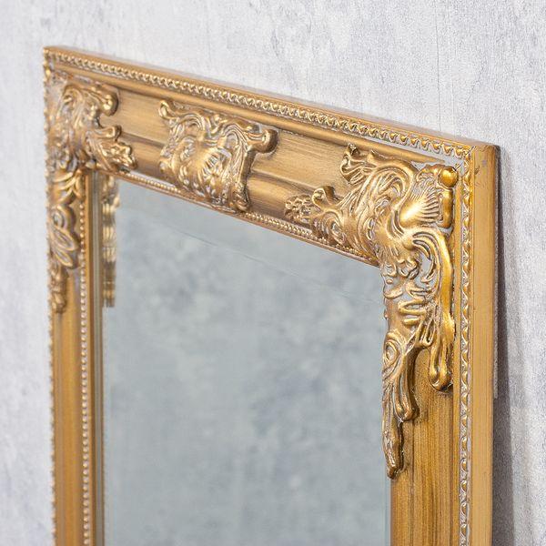 Spiegel BESSA barock gold-antik 100x50cm – Bild 6