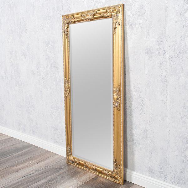 Spiegel BESSA barock gold-antik 100x50cm – Bild 4