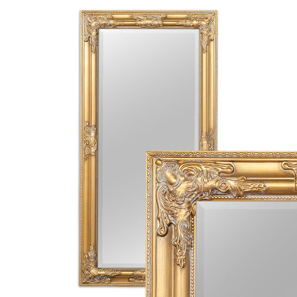 Spiegel BESSA barock gold-antik 100x50cm – Bild 3