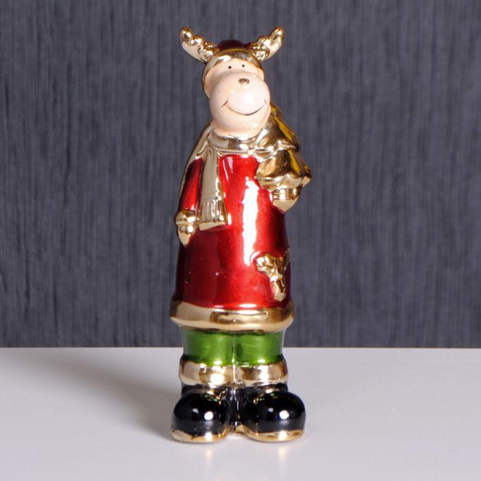 Edzard WEIHNACHTSELCH mit Tanne Weihnachten Deko Dekoration