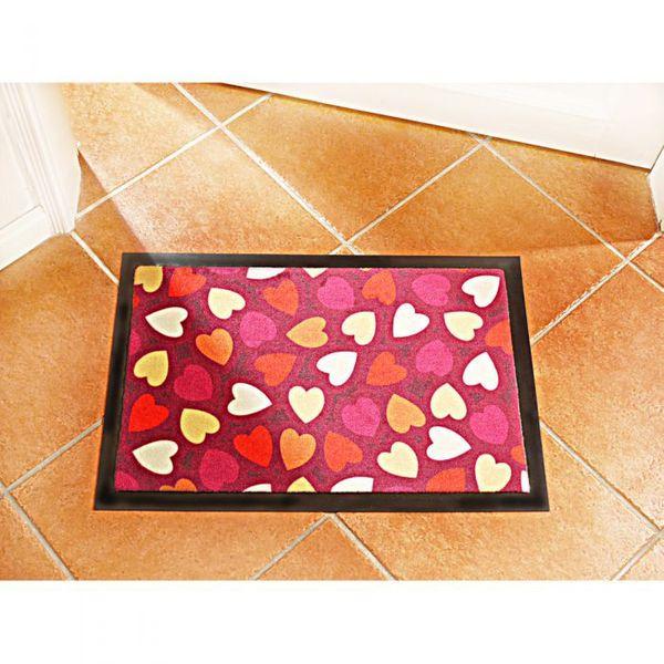 Fußmatte HEARTS Schmutzfangmatte