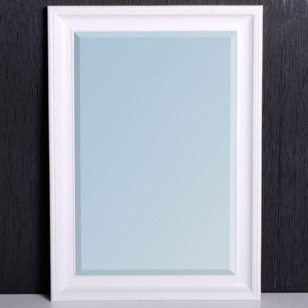 Spiegel COPIA Pur-Weiß 50x40cm – Bild 2