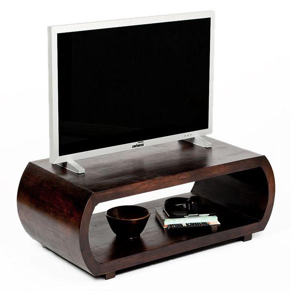 Couchtisch MOHIT Dark-Brown-M 90x60cm Akazie – Bild 3