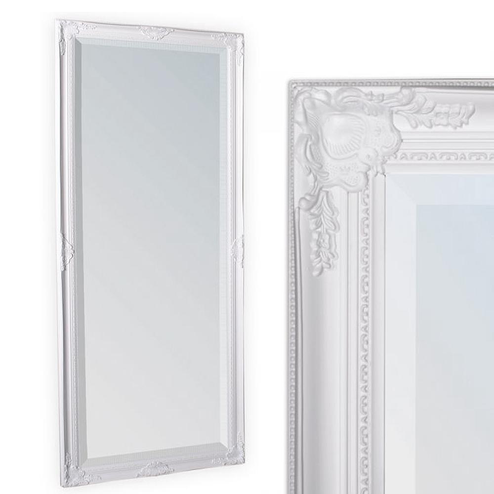 Spiegel LEANDOS barock weiß-pur 180x70cm