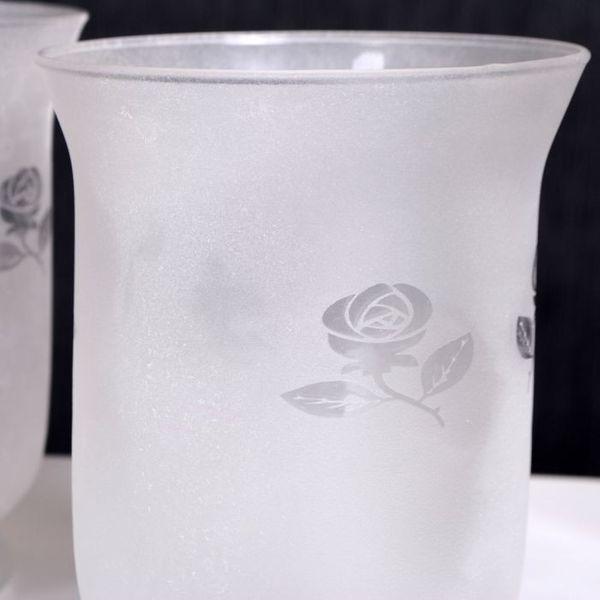 2er Set Teelichthalter WHITE FLOWER – Bild 3