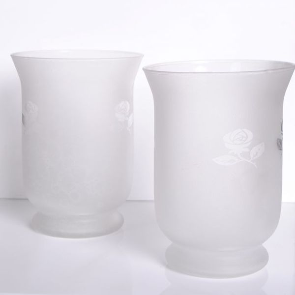 2er Set Teelichthalter WHITE FLOWER – Bild 8