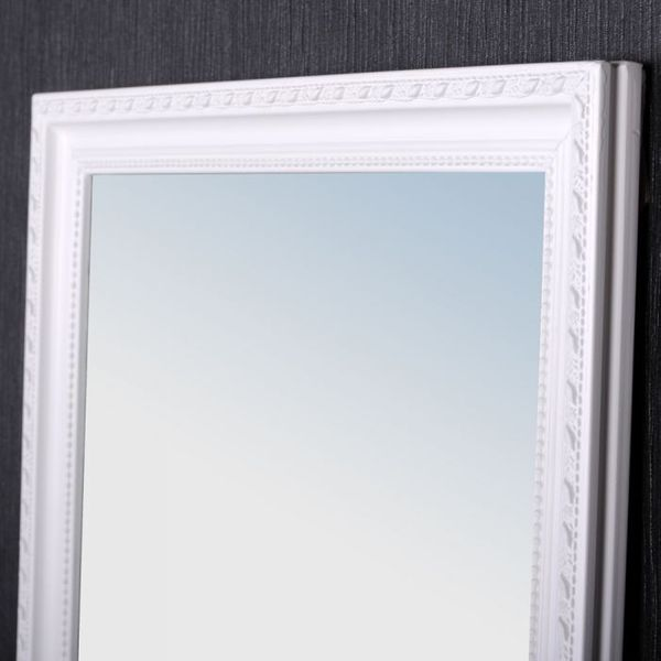 Spiegel STRETTO Barock pur-weiß 130x40cm – Bild 5