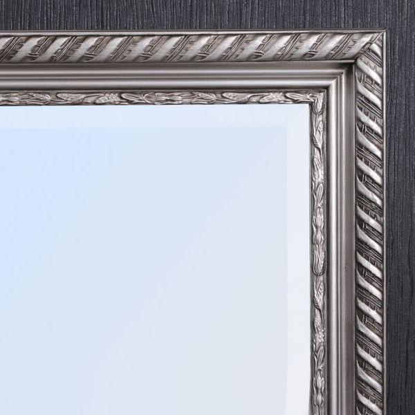 Spiegel STRIPE 100x50cm silber-antik barock – Bild 4