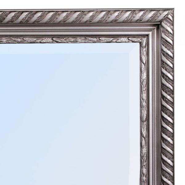 Spiegel STRIPE 100x50cm silber-antik barock – Bild 6