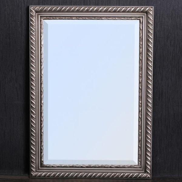 Spiegel STRIPE 70x50cm silber-antik barock – Bild 2