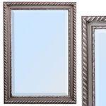 Spiegel STRIPE 70x50cm silber-antik barock 001