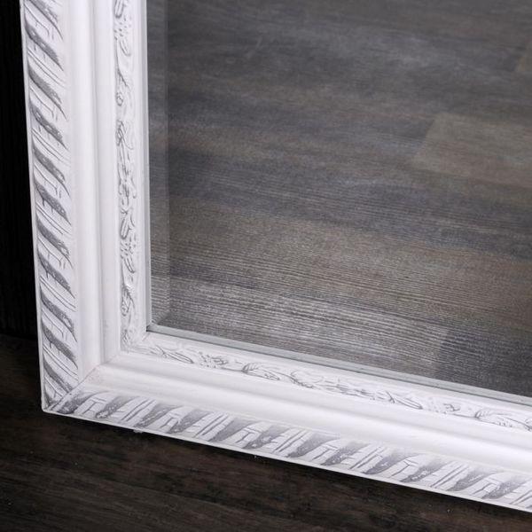 Spiegel STRIPE 180x70cm weiß-silber barock – Bild 5