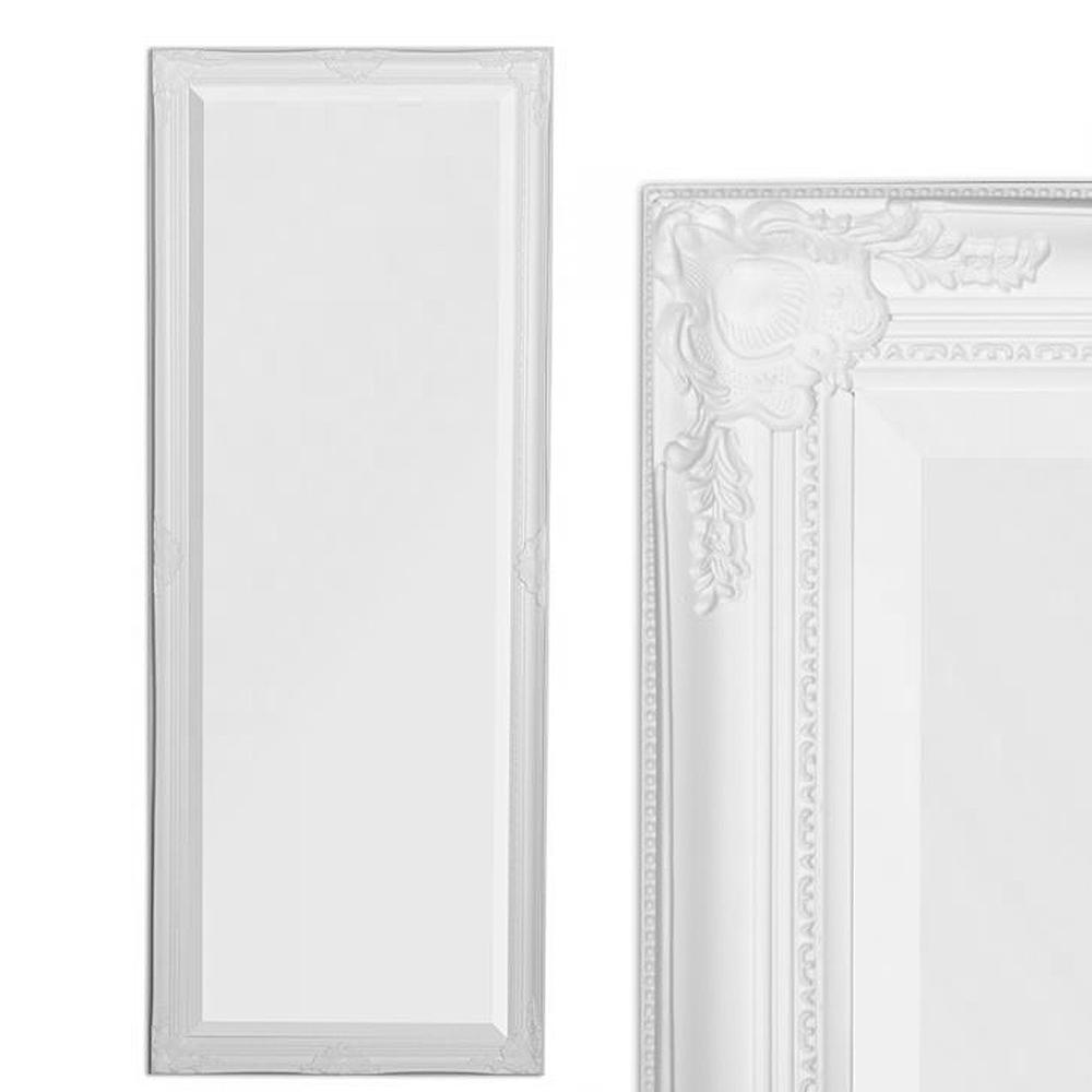Spiegel LEANDOS barock weiß-pur 140x50cm