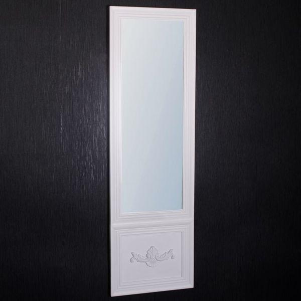 Spiegel IMPRESS Landhaus weiß 160x50cm – Bild 2