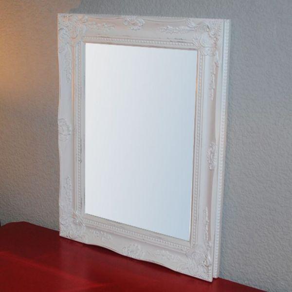 Spiegel LEONIE barock weiß-gold 47x37cm – Bild 2