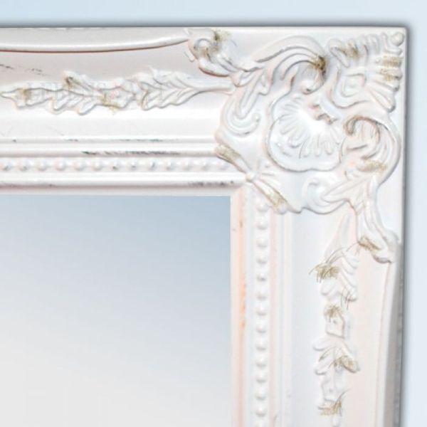 Spiegel LEONIE barock weiß-gold 47x37cm – Bild 3