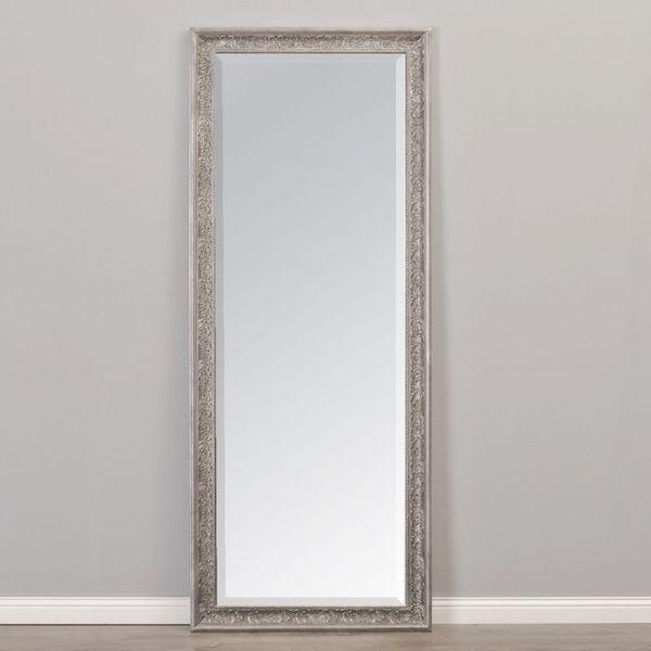 Spiegel FIORA barock antik-silber 170x60cm – Bild 2