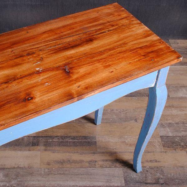 Konsolentisch JACAPO Blue & Brown Schreibtisch – Bild 5