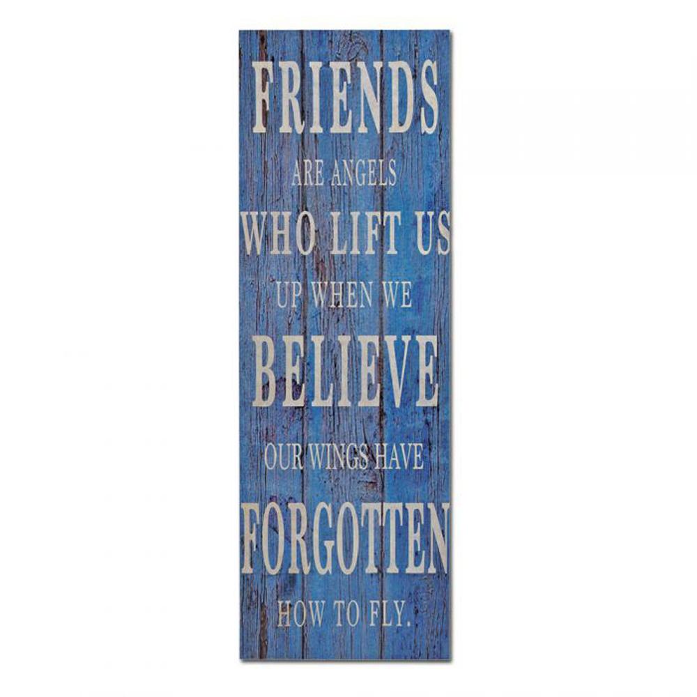 Canvas Leinwanddruck auf Keilrahmen FRIENDS 30x90cm