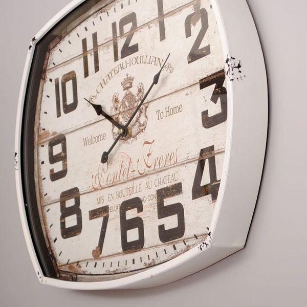 Metall Wanduhr JOULLIAN im Vintage-Design 60cm – Bild 2