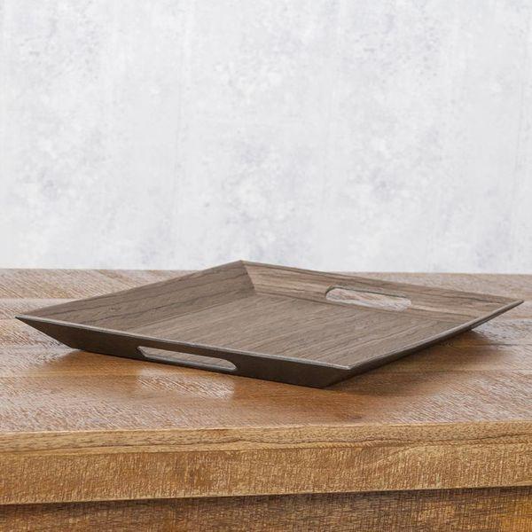Eckiges Designer Tablett LADAN 55x35cm