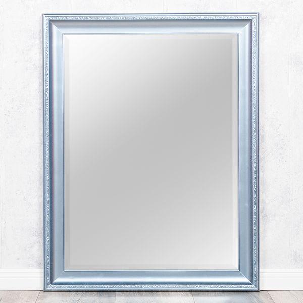 Spiegel COPIA 90x70cm Frozen - Silber Wandspiegel Barock