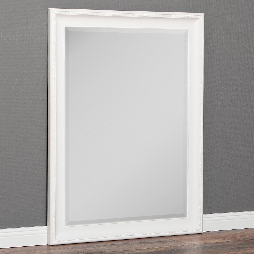 spiegel copia 90x70cm pur wei wandspiegel barock 5647. Black Bedroom Furniture Sets. Home Design Ideas
