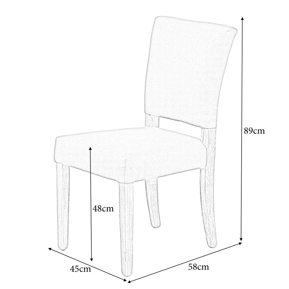 stuhl new retro seal brown esszimmerstuhl k chenstuhl stoff nieten rubberwood ebay. Black Bedroom Furniture Sets. Home Design Ideas