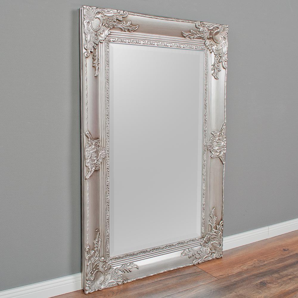 spiegel marlon s antik silber 120x80cm 6322. Black Bedroom Furniture Sets. Home Design Ideas
