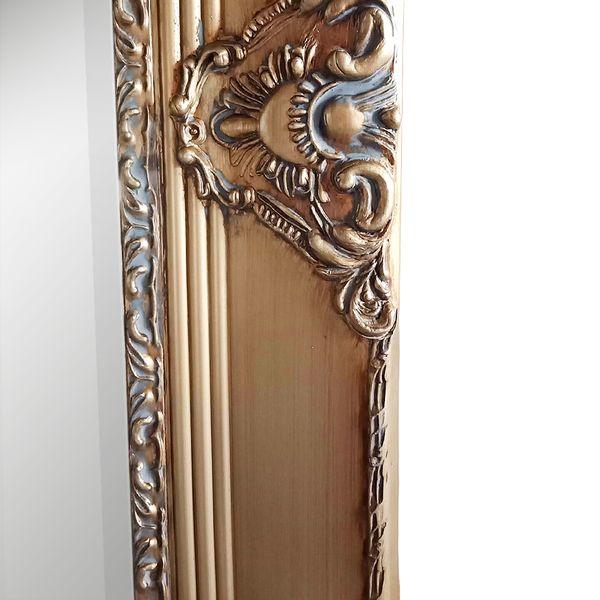 Spiegel MARLON-XL Antik-Gold 180x100cm – Bild 2