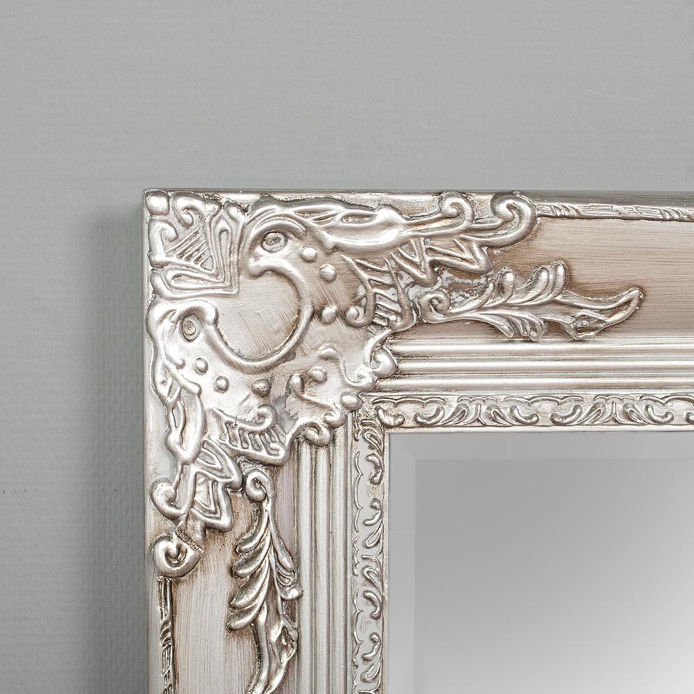 spiegel marlon xxl silber 200x110cm 6328. Black Bedroom Furniture Sets. Home Design Ideas