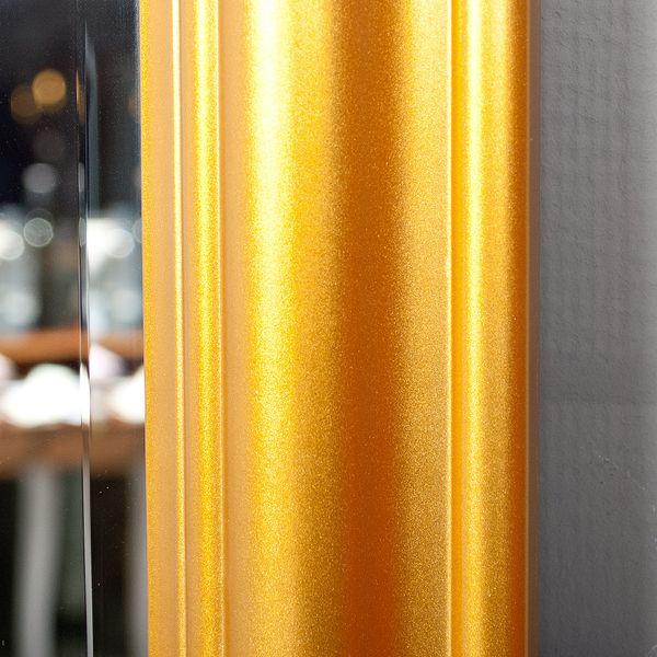 Spiegel ONDA 90x70cm Glanz Gold – Bild 6