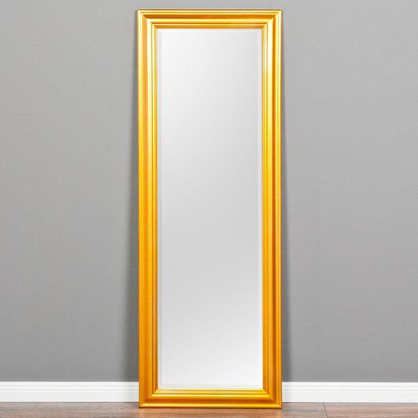Spiegel ONDA 140x50cm Glanz Gold – Bild 1