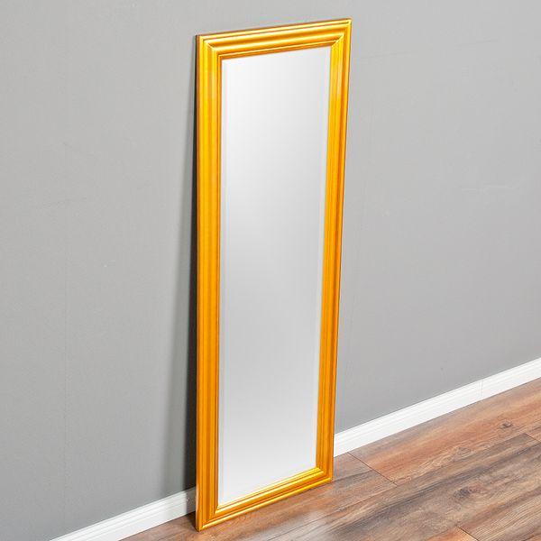 Spiegel ONDA 140x50cm Glanz Gold – Bild 3