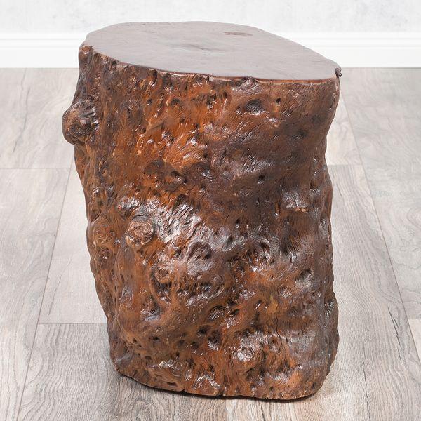 Hocker / Beistelltisch LONGAN Red Longan-Holz – Bild 1