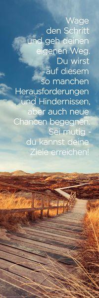 Wandbild ZIELE ERREICHEN 30x90cm Deko Bild Holzschild – Bild 1