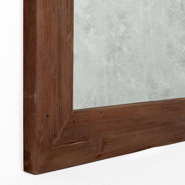 Wandspiegel TEAK ca. 160x70cm recyceltes Teakholz Spiegel – Bild 3